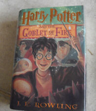 2000 First American Edition Book Harry Potter Goblet of Fire JK Rowling 13th Pri