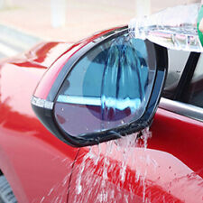 2x Car Anti Fog Rainproof Rearview Mirror Protective Film Accessories Round