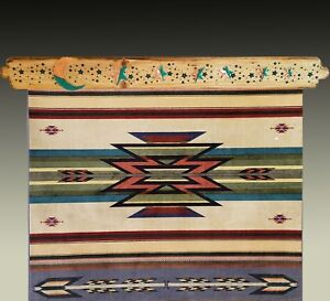 """Quilt & Rug Hangers, """"Moon and Stars"""", Holds a 32"""" wide Quilt or Rug"""