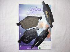 Mafix 4 plaquettes de frein arrière Smart Forfour (LDPA44)