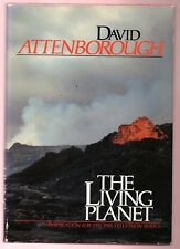 THE LIVING PLANET - BOOK OF PBS SERIES- DAVID ATTENBORUGH SIGNED 1ST