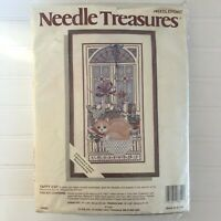 Needle Treasures Needlepoint Kit Taffy Cat Elsa Williams Wool Tapestry Yarn New