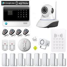 G90B WiFi GSM GPRS Home Office Burglar Alarm System + Wireless HD IP Camera