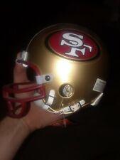 NEW VINTAGE SAN FRANCISCO 49ers RIDDELL NFL FOOTBALL HELMET AUTHENTIC