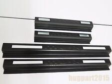 MATTE BLACK SILL SCUFF PLATE 4pcs SET FOR ISUZU MU-X MUX 2013 2014 2015 2016 SUV