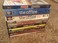 STEVE CARELL MOVIE LOT 7 DVDS AND 3 BOX SETS  THE OFFICE  ANCHORMAN  DATE NIGHT