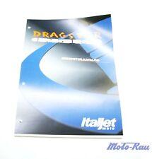 Italjet DRAGSTER 125 180  2 Takt  Ersatzteilkatalog Katalog Ersatzteilliste
