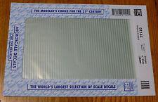 "Microscale Decal HO  #91144 6"" Wide Stripe - Silver"