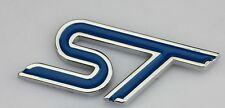 ST Blue Metal Sticker 3D for car