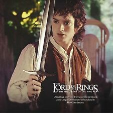 The Lord of the Rings The Fellowship of the Ring Original Motion Picture CD New