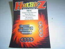 Chrome Holden 6 149-202 Fan and Pulley Bolts Allen Head Sent Registered Post