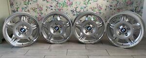 "Genuine BMW E36 M3 17"" Style 24M 7.5J & 8.5J Staggered Alloy Wheels Set"