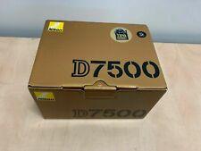 Nikon D7500 Digital SLR DSLR Camera Body Black - UK NEXT DAY DELIVERY