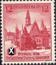 Duitse Rijk 667 postfris 1938 Duits. Turnen