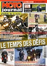 MOTO JOURNAL 1892 KAWASAKI Z1000 650 ER-6 N BMW R1200 RT HARLEY DAVIDSON 1584