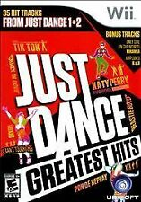 Just Dance -- Greatest Hits (Nintendo Wii, 2012) - DISC ONLY