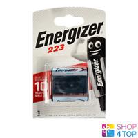 ENERGIZER 223 CR-P2 LITHIUM BATTERY 6V DL223 EL223AP EXP 2027 NEW
