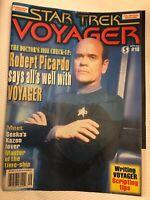 Vintage Star Trek Voyager Magazine # 18 Sept. 1998