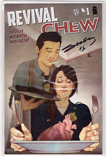 REVIVAL CHEW #1 Tim Seeley Signed Dynamic Forces #d 8/160 w/COA Jenny Frison NM