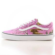 Mens Vans Era Realtree Xtra Skate Shoes Pink Wild Orchid Brown White Camouflage