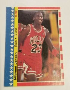 1987-88 Fleer MICHAEL JORDAN Sticker #2  CHICAGO BULLS  87-88 1988 You Grade
