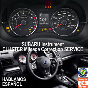 SUBARU  Instrument Cluster Mileage Correction / Programming Service