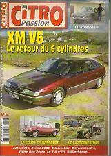 CITRO PASSION 14 CITROEN XM V6 CITROEN DS GT19 COUPE BOSSAERT P45 RU23 GAZOGENE