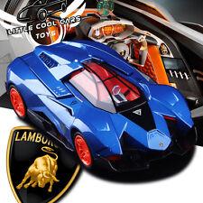 1:32 Lamborghini EGOISTA Alloy Diecast Car Model Sound&Light Blue B2794