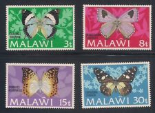 Malawi  1973  Sc #199-203  Butterflies  VLH  (42803)