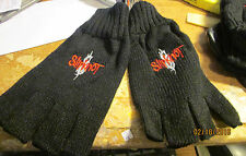SLIPKNOT FINGERLESS GLOVES COLLECTABLE RARE VINTAGE   METAL LIVE