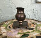 Vintage Bronze Bristle Fountain Quill Pen Wipe Brush