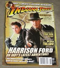 Indiana Jones The Official Magazine #2 July/Aug 2008 Harrison Ford Cover A