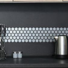 Honeycomb Border Stencil - CraftStar Hexagonal Pattern Border Template
