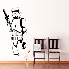 Star Wars Stormtrooper Wall Art Sticker Vinyl Decals Kids Boys Room Decor Mural