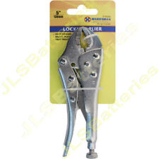 "PLIERS 4"", 5"", 7"" or 12"" Grove MOLE GRIPS LOCKING GRIP long nose cushion grip"