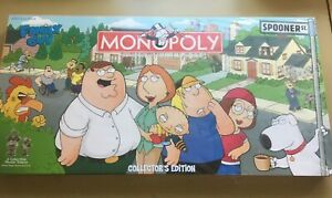 Family Guy Collectors Edition Monopoly Board Game 2006, NEW & Sealed