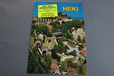 X113 HEKI Train maquette decor depliantHoN 1982 4 p 29,6*21 D katalog diorama