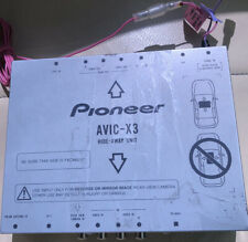 Pioneer Avic X3 Hide Away Unit Brain Box For Motorised Unit Used Good Working