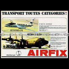 AIRFIX HP JETSTREAM & LOCKHEED C 130 K HERCULES 1970 Pub / Publicité / Ad #B120