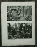 AQ) Blatt 2.WK 1940 Polen Kriegsbeute Waffen Geschütz Sammelplatz Soldaten WWII