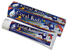 Coral Kids Fluoride Free Toothpaste - Berry Bubblegum Toothpaste