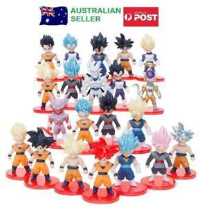 Dragon Ball 21 Piece Figurine Set Cake Toppers Lot Pce Son Goku Vegeta Vegetto 7