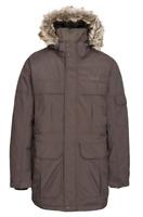TRESPASS Mens Highland DLX Parka Khaki Size UK XS *REF90