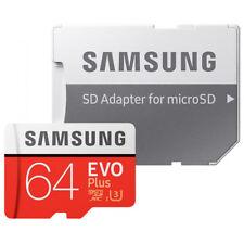 Tarjetas de memoria Samsung microsd para teléfonos móviles y PDAs con 64 GB de la tarjeta