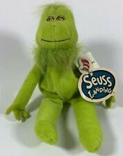 "Vintage Dr. Seuss Landing The Grinch Bean Bag 9"" Plush Stuffed Animal NWT Rare!"