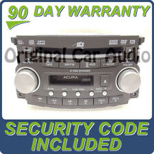 07 08 ACURA TL Radio Stereo 6 Disc Changer MP3 CD DVD Player 1TB4 39100-SEP-A100
