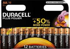 12 Duracell Plus Power AA / Mignon / MN1500 Alkaline Batterien im 12er Blister