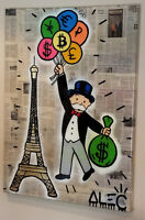 Alec Monopoly original painting registered on blockchain