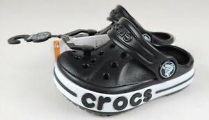 Crocs Bayaband Clog Black Baby Toddler C 4 C4 New
