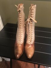 Antique Victorian Lace Up Boots